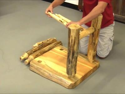 Easy DIY Log Furniture Tools!