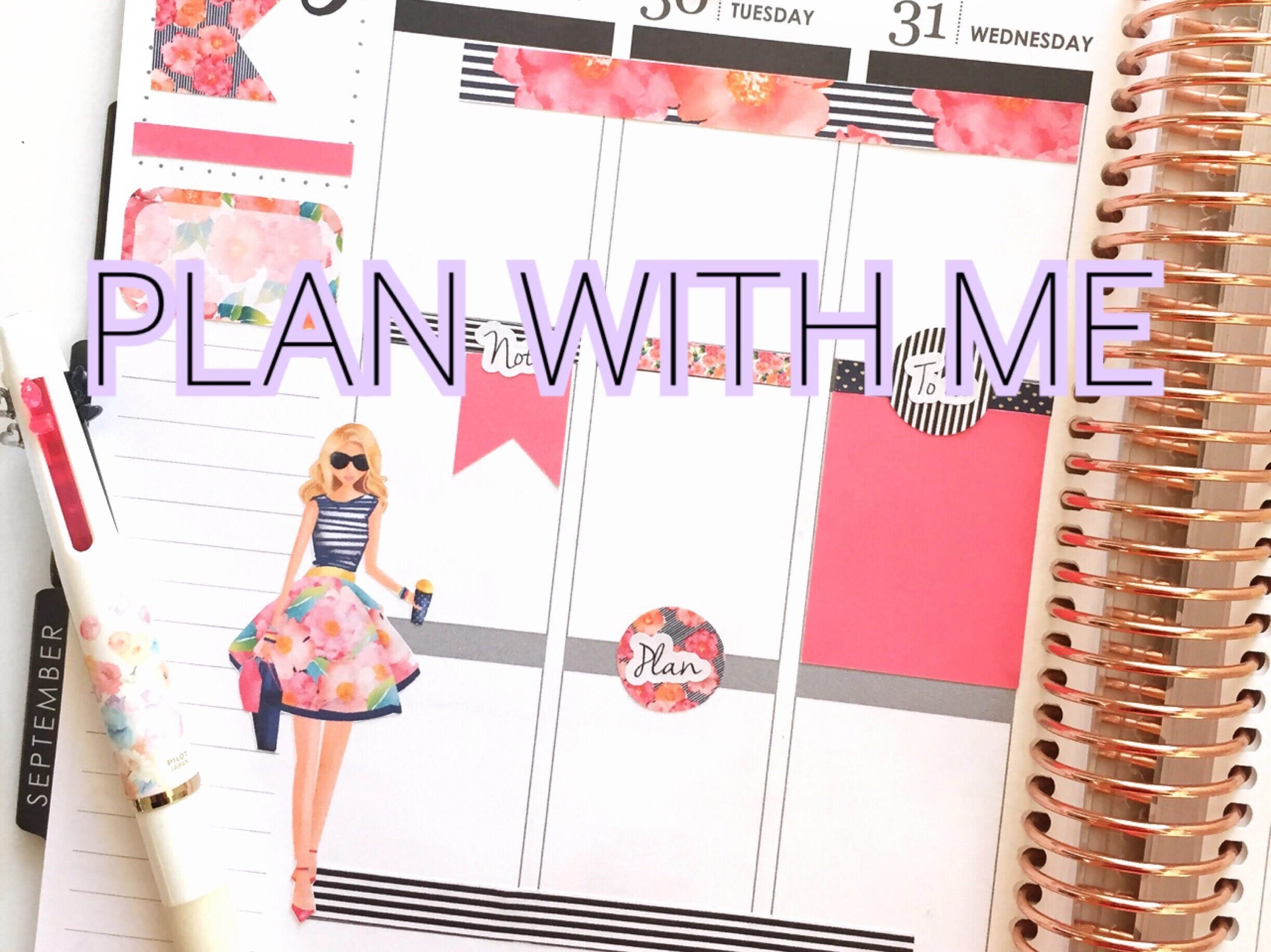 ERIN CONDREN PLAN WITH ME | PLANNER GIRL KIT | PAPER PANDUH