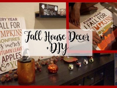 Fall House Decor +DIY's -- JulesKimTV