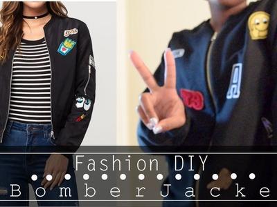 Fashion DIY  Bomber Jacket