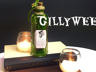 Gillyweed : DIY Potion Bottle : Halloween Prop ( Harry Potter inspired)