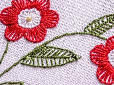 Hand Stitching Design | Easy Hand Sewing | HandiWorks #79