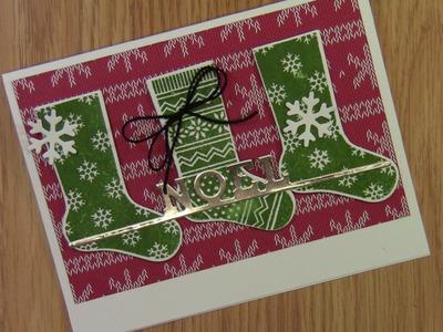 Hang Your Stockings Christmas Card