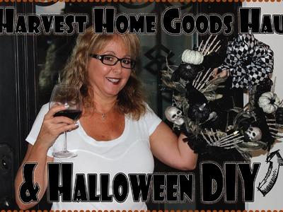 Harvest Home Goods Haul & Halloween DIY