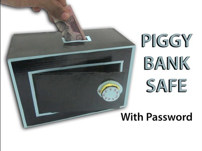 How To Make Piggy Bank Safe With Password - DIY
