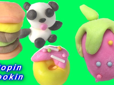 Kracie Popin Cookin Edible Mini Doughnuts, Hamburgers and Lollipops by Rainbow Collector
