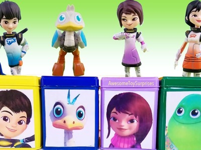 Miles from Tomorrowland Visit Dinosaur Planet for DIY Cubeez Blind Box Toy Surprises