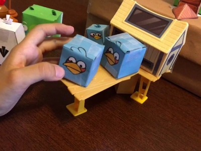 New season of Angry birds paper craft video
