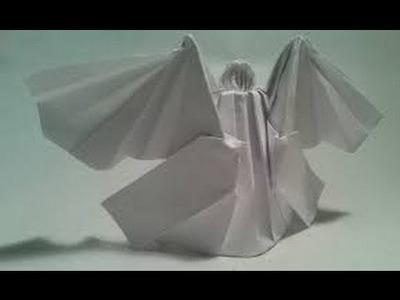 Origami Angel - 3D Modular Christmas Star Ornament