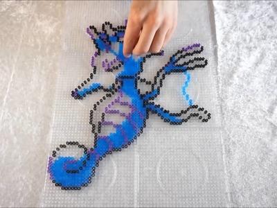 Pokémon KINGDRA - Hama Beads. Perler Beads