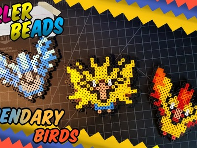 Pokemon Perler Beads ~Legendary birds ~