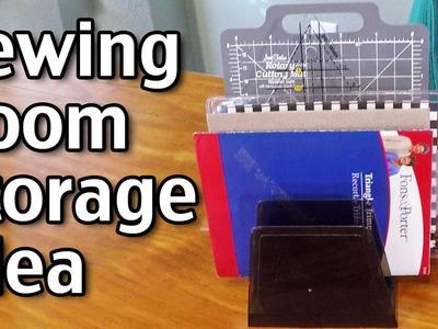 Sewing Room Storage Idea