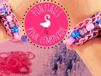Shopkins Charm Friendship Bracelet on Rainbow Loom Tutorial