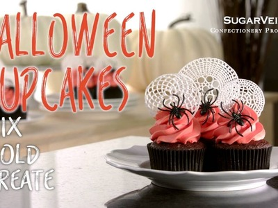 Spooky DIY Halloween Cupcakes with SugarVeil