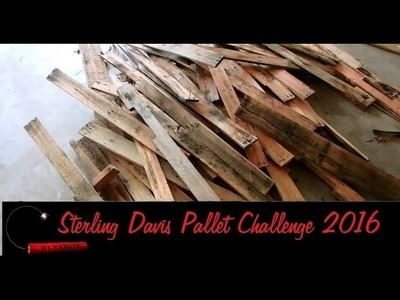 Sterling Davis Inspired:  The Pallet Up Cycle Challenge 2016 -Jewelry Holder