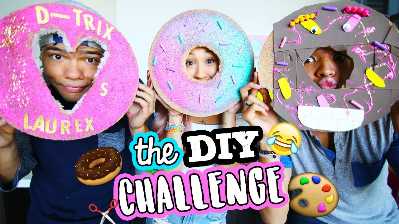 THE DIY CHALLENGE 5: LAUREX vs. DTRIX