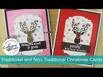 Traditional and Non-Traditional Christmas Cards with Hip Holiday