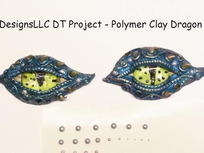 TupeloDesignsLLC DT Project  -  Polymer Clay Dragon Eyes + Bonus