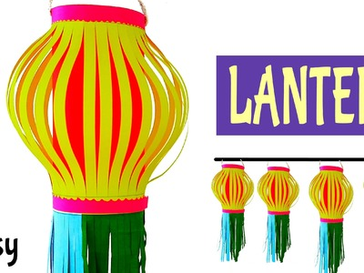 "Tutorial to make your own ""Lantern"" for Diwali 