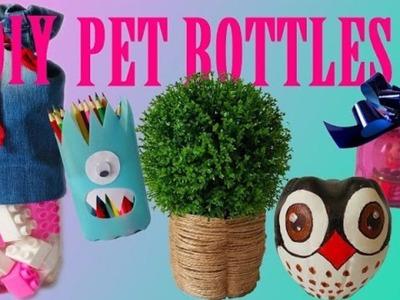 10 Creative Ways to Reuse Recycle Plastic Bottles - Life Hacks