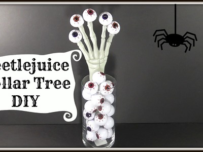 Beetlejuice Inspired Dollar Tree DIY | Easy Halloween Decor!