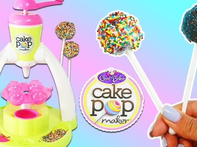 Cool Baker Cake Pop Maker Playset | DIY Fun & Easy Cake Pop Desserts without Baking!