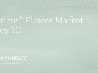 Cricut® Flower Market Collection: Baby Scrapbook