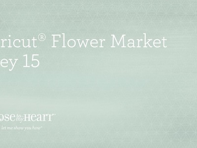Cricut® Flower Market Collection: Boy Scrapbook Page