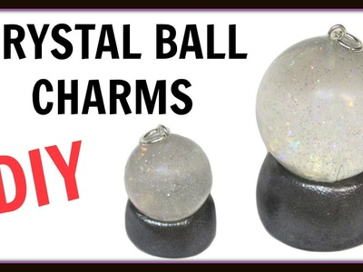 Crystal Ball Charms | DIY Project | Halloween Craft | Craft Klatch | Resin Jewelry | How To