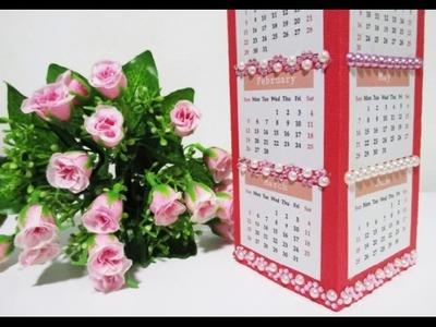 DIY : #146 Desk CALENDER Vase ♥