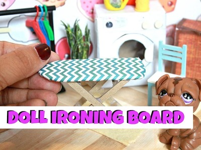 DIY DOLL IRONING BOARD | Miniature DIY
