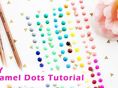 DIY Enamel Dots Tutorial