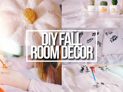 DIY FALL ROOM DECOR 2016! Tumblr + Pinterest Inspired