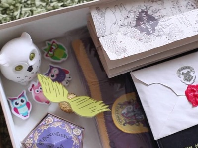 DIY Harry Potter Gift Box (unboxing)