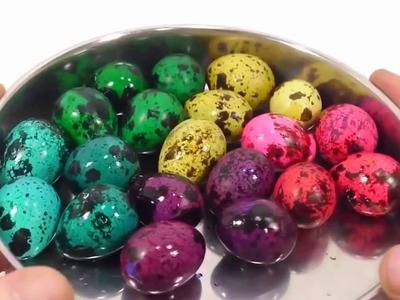 DIY How To Make Colors Birds Eggs Ball Learn Colors Surprise Toys Johny Johny Yes Papa Finger Family