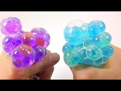 DIY How To Make Colors Orbeez Squishy Stress Balloons Learn Colors Slime Clay | Johny Johny Yes Papa