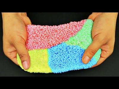 DIY How To Make Floam! Make Rainbow Floam! DIY Como Hacer Arco Iris Floam!