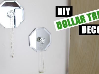 DIY Jewelry Holder Dollar Tree | DIY Room Decor Dollar Store Jewelry Display