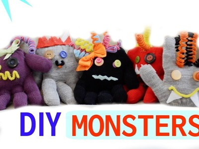 DIY Monster Glove Animals! | Tay from Millennial Moms