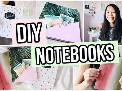DIY Notebooks for Back To School 2016! Pinterest Inspired!