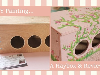 DIY Painting A Hay Box & Happy Rabbit Company Review
