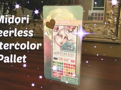 DIY Peerless Watercolor Pallet for Midori and Hobonichi