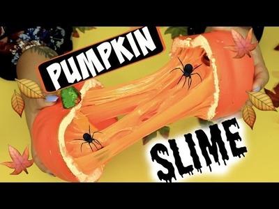 DIY PUMPKIN SLIME!