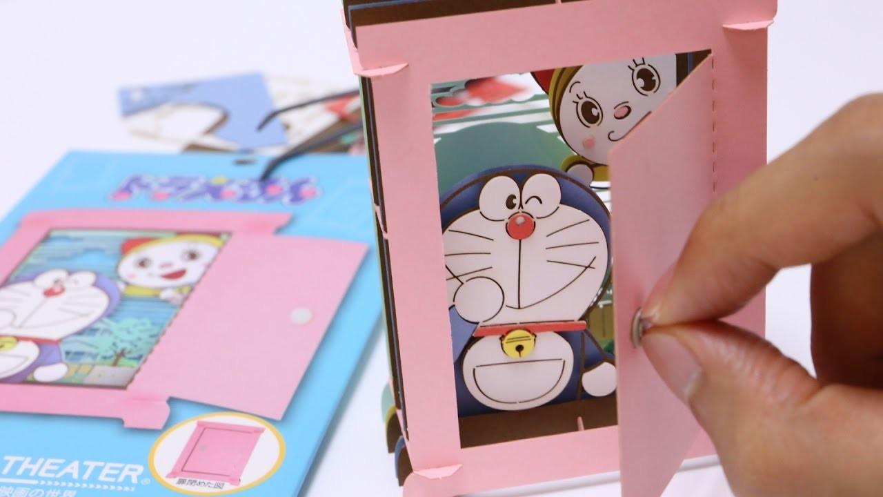 Doraemon Anywhere Door DIY Paper Craft