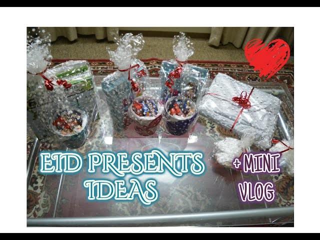 EID GIFT IDEAS | DIY | + Mini Eid Vlog