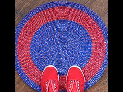 How to Make Door Mat With Rope At Home DIY Recycle & Music