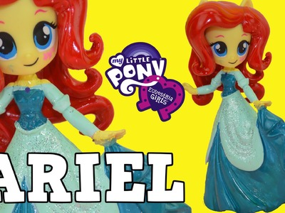 My Little Pony Fluttershy Disney Princess Little Mermaid Ariel Custom Makeover DIY mermaid