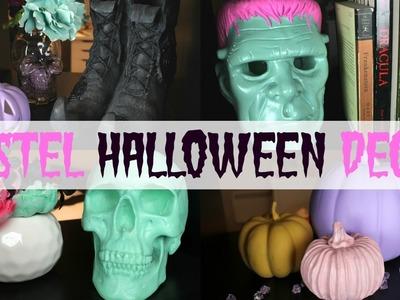 Pastel Halloween Decor DIYS   Halloween Craft Series 2016 #3   Serena Bee Creative