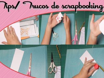 Trucos tips para scrapbooking