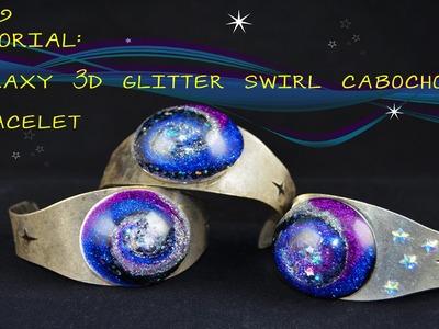 Tutorial - Galaxy Resin 3D Swirl Bracelet!